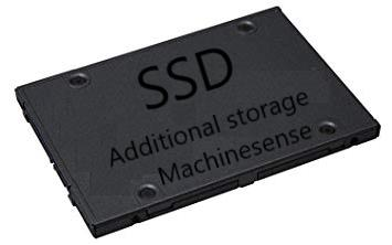 Stores raw and processed data (SSD)