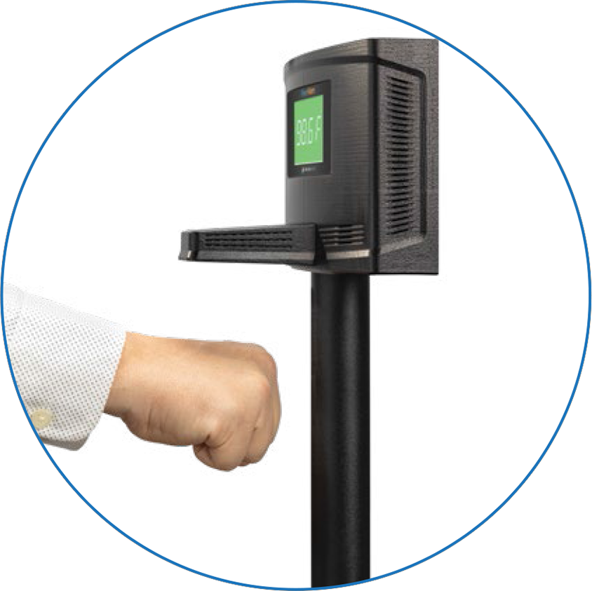 Wall Mounted Contactless Fever Scanner