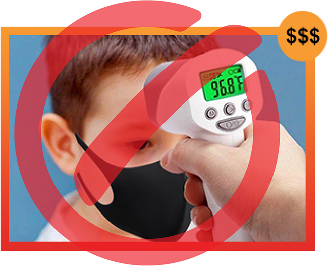 Fist Artery Thermal Scanner For Schools