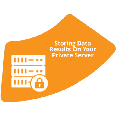 Storing Data Resulting On Your Private Server