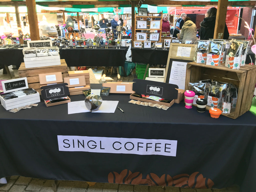 Singl Coffee Hits The Markets!