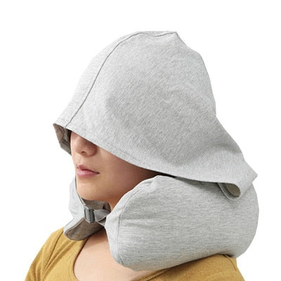 Multi-functional U-shape Travel Pillow