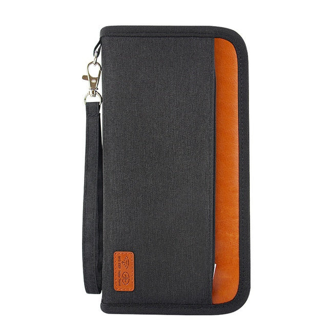 Quality Travel Passport Multi-card Organizer Bag
