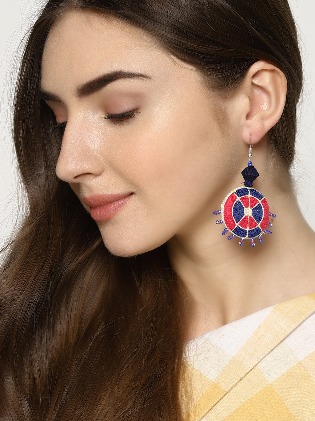 Hand Embroidered earrings | Untung