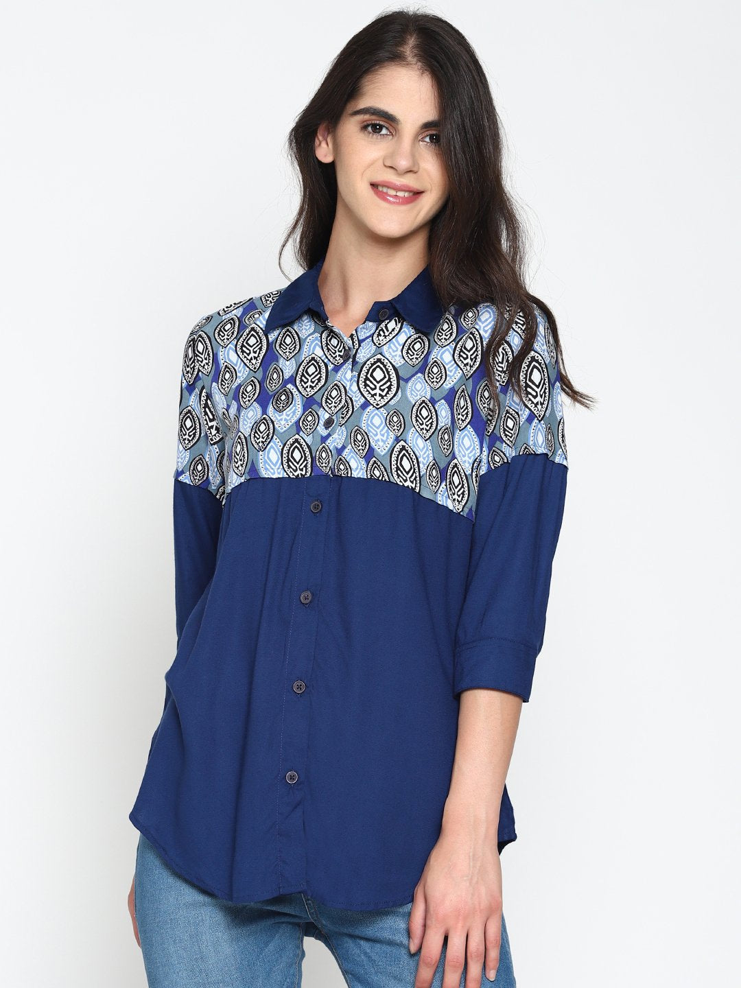 Tribal Print Shirt | UNTUNG