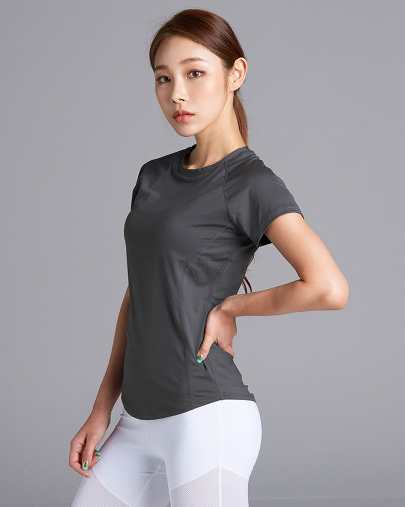XT4108E DARK GREY TOP - Bada Korea