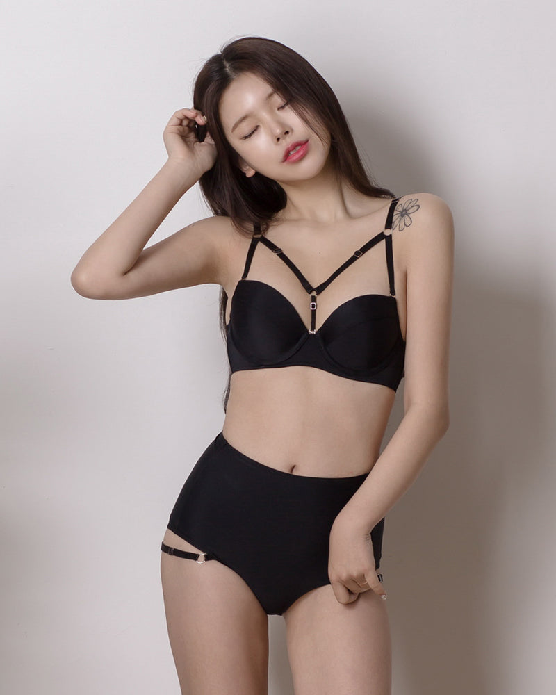 SIMPLE Y BIKINI SET - Bada Korea