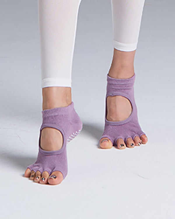 YOGA SOCKS VIOLET - Bada Korea