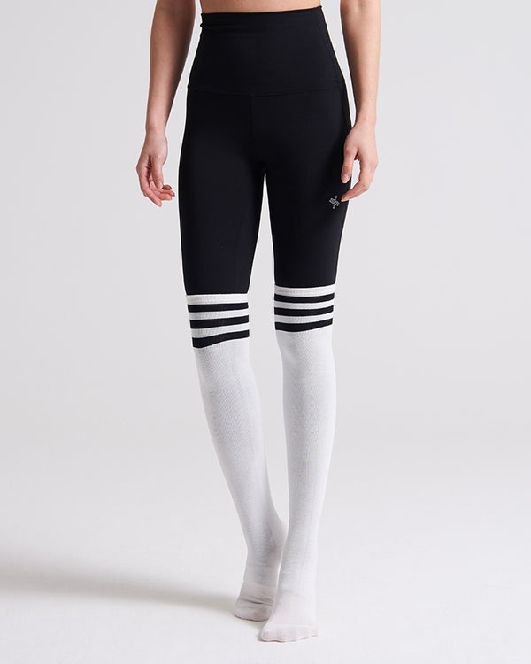 OVER KNEE SOCKS WHITE - Bada Korea