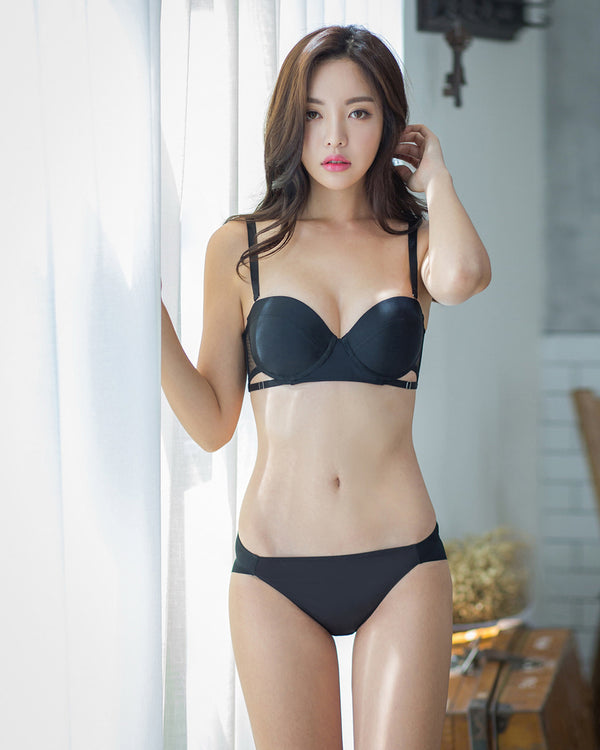 BASIC HALF CUP BRA SET - Bada Korea