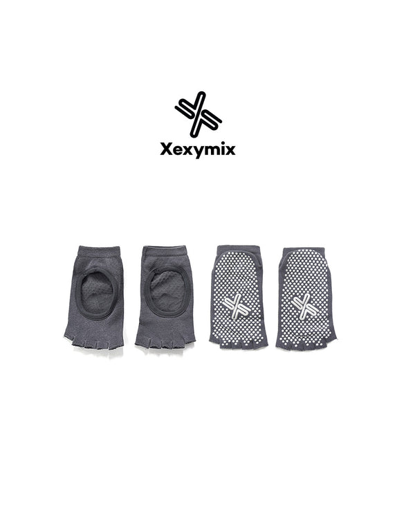 YOGA SOCKS LIGHT GREY - Bada Korea