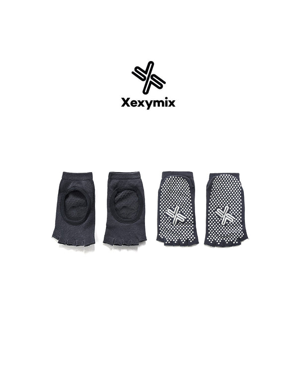 YOGA SOCKS DARK GREY - Bada Korea