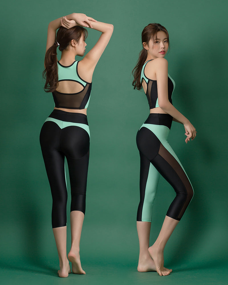 CROP TOP MINT - Bada Korea