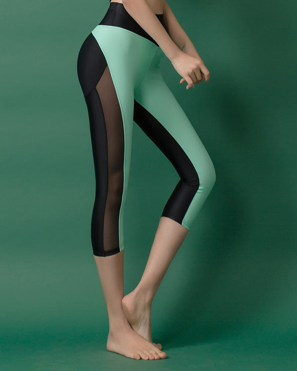 APPLE HIP LEGGINGS MINT - Bada Korea