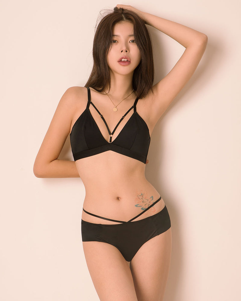 TWO STRAP BRALETTE - Bada Korea
