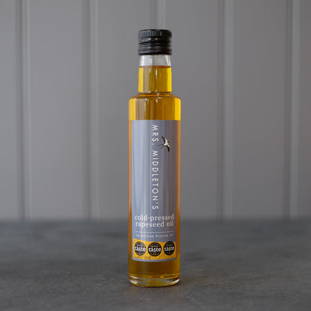 Natural Oil - Cold-Pressed Rapeseed Oil | Mrs Middleton's