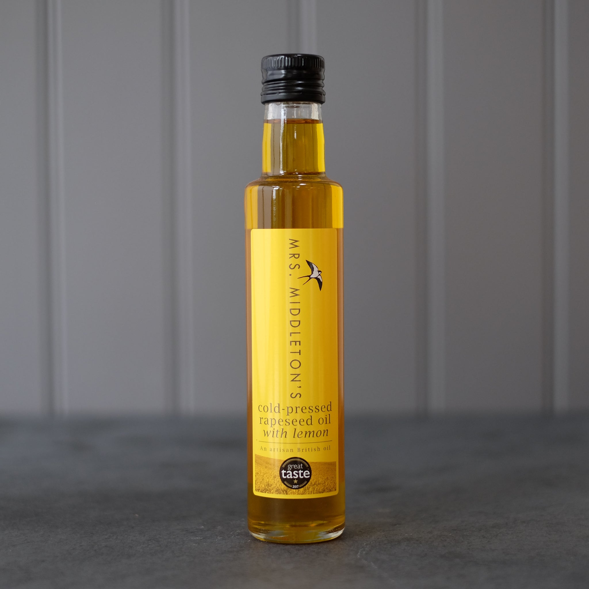 Cold-Pressed Rapeseed Oil with Lemon