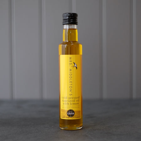Lemon Oil - Cold-Pressed Rapeseed Oil | Mrs Middleton's