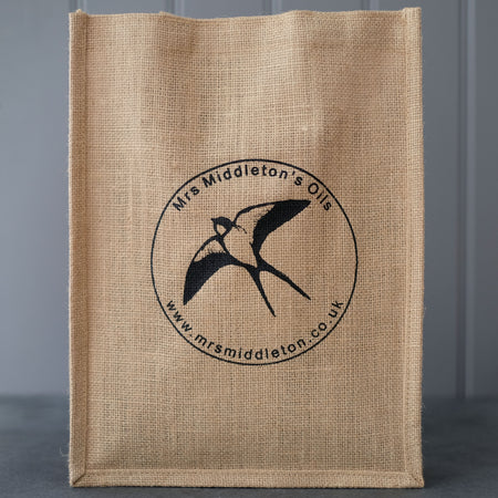 Jute Bag - Cold-Pressed Rapeseed Oil | Mrs Middleton's