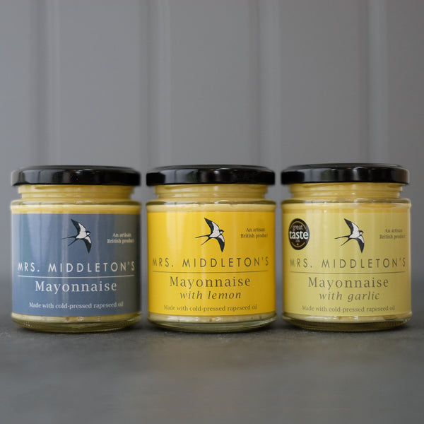 Mayonnaise Multipack - Cold-Pressed Rapeseed Oil | Mrs Middleton's