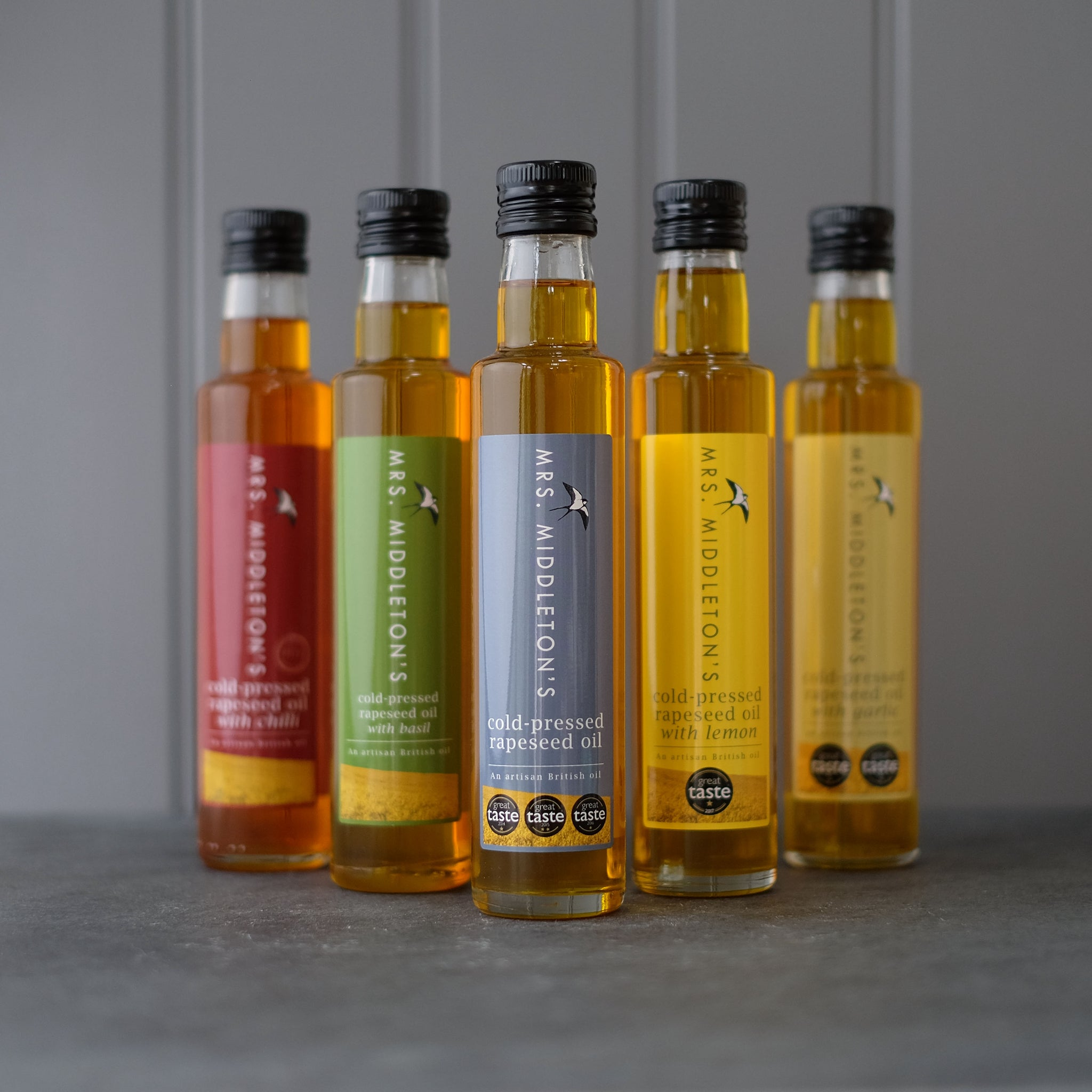 Cold-pressed rapeseed oil multipack