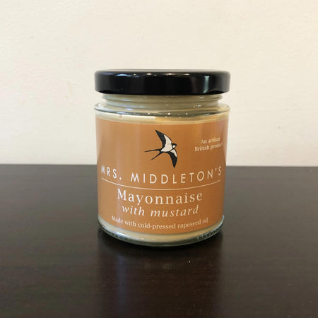 Rapeseed oil mayonnaise with mustard