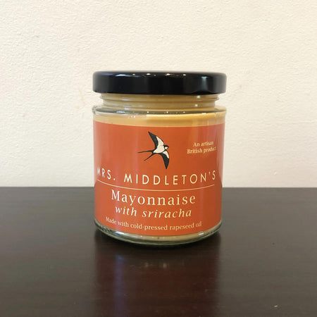 Rapeseed oil mayonnaise with sriracha