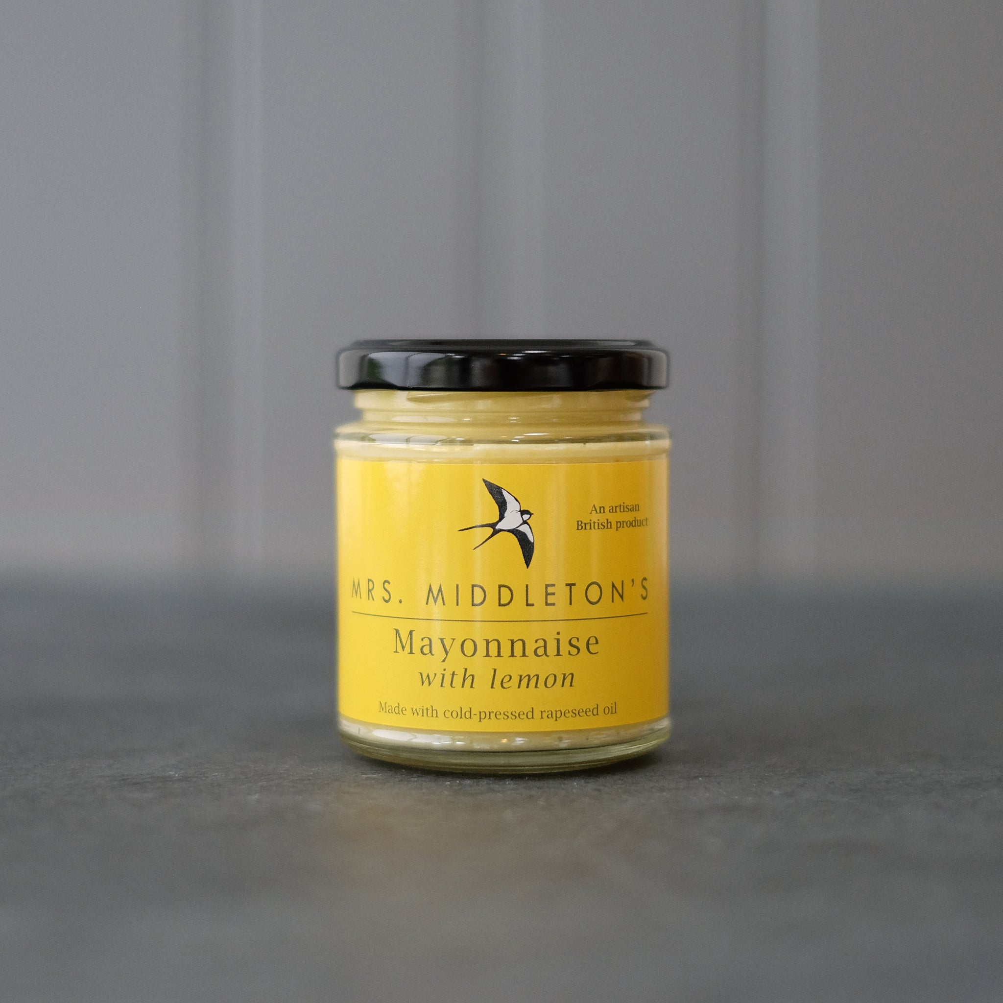 Lemon Mayonnaise - Cold-Pressed Rapeseed Oil | Mrs Middleton's