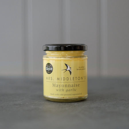 Garlic Mayonnaise - Cold-Pressed Rapeseed Oil | Mrs Middleton's
