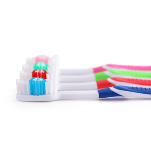 148 Individually Packaged Large Head Medium Bristle Disposable Toothbrushes