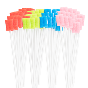 Disposable Oral Swabs - Sterile, Untreated & Unflavored (260 Count)
