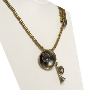Amire Handcrafted Bronze Necklace