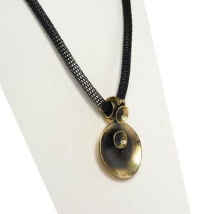 Azra Handcrafted Bronze Necklace