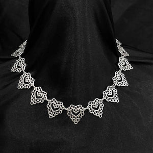 Handcrafted Silver Necklace