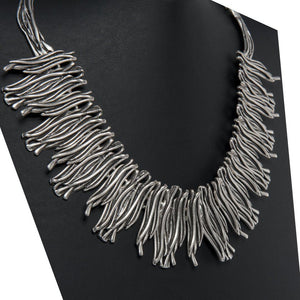 Usal Handcrafted Silver Necklace