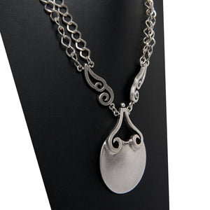 Nurel Handcrafted Silver Necklace