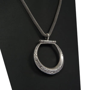 Bahsende Handcrafted Silver Necklace