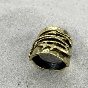 Handcrafted Bronze Ring