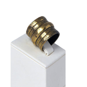 Necil Handcrafted Bronze Ring