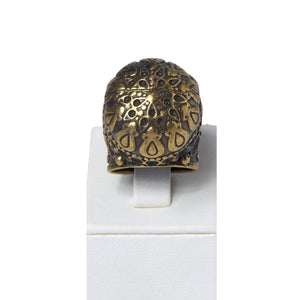 Mehves Handcrafted Bronze Ring