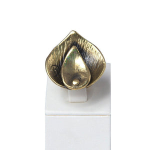 Elif Handcrafted Bronze Ring