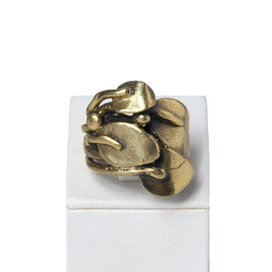 Mülaki Handcrafted Bronze Ring
