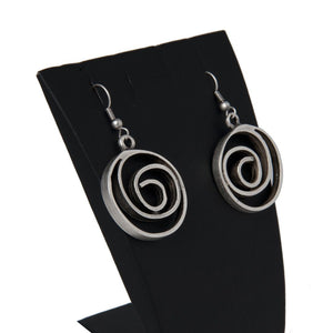 Uge Handcrafted Silver Earrings