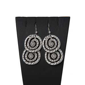 Tumerk Handcrafted Silver Earrings