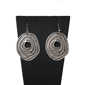 Piraye Handcrafted Silver Earrings
