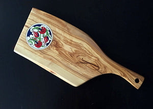 Handcrafted Olive Wood Serving Board