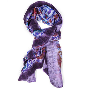 Handcrafted Nuno Silk Wrap