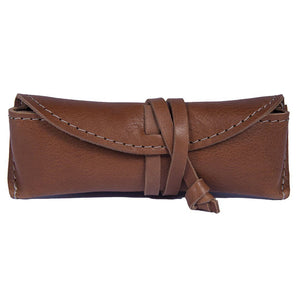 Stylish Leather Eyeglass Case
