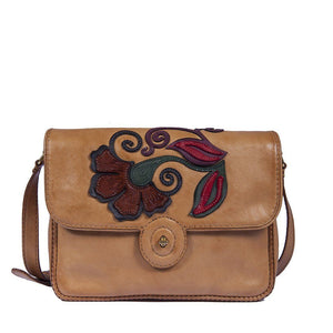 Nina 100% Handcrafted Leather Shoulder Bag
