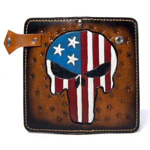 Patriot Skull Wallet